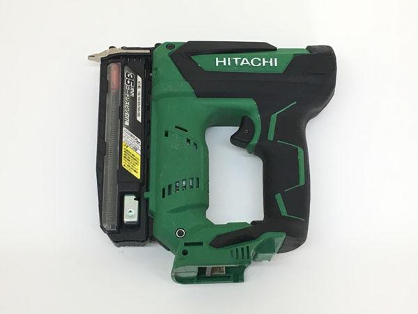 HITACHI/日立工機35mm コードレスピン釘打機 本体のみNP18DSAL