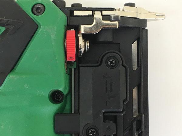 HITACHI/日立工機35mm コードレスピン釘打機 本体のみNP18DSAL詳細画像6