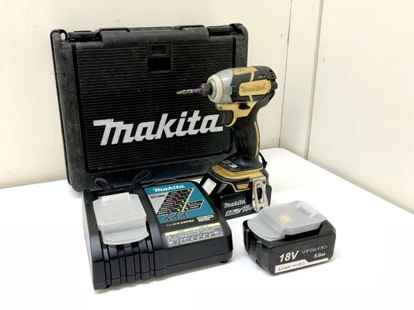 makita/マキタ 充電式インパクトドライバ 18V 5.0Ah買取しました!