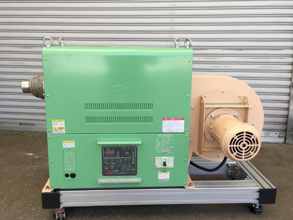 TSK/竹綱製作所電気式熱風発生装置TSK-72詳細画像2