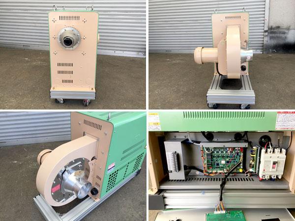 TSK/竹綱製作所電気式熱風発生装置TSK-72詳細画像3