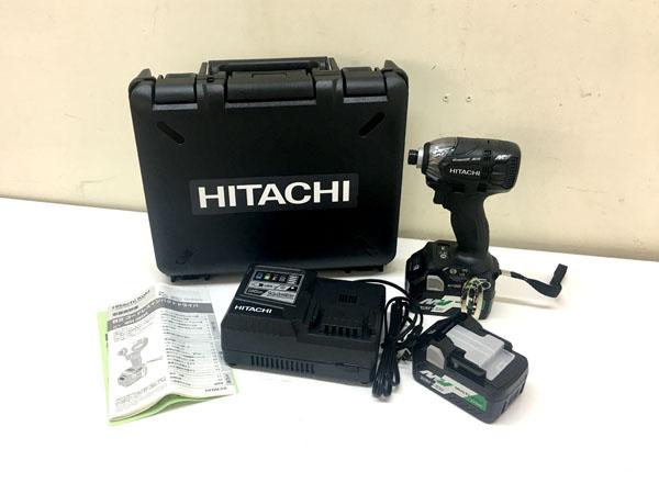 HITACHI/日立工機マルチボルト コードレスインパクトドライバWH36DA ブラック