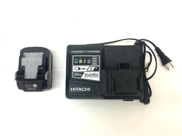 HITACHI/日立工機マルチボルト コードレスインパクトドライバWH36DA ブラック詳細画像5