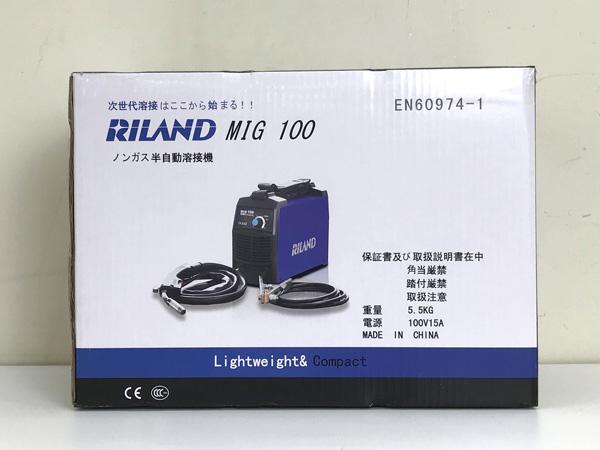 RILAND/リランドインバーター ノンガス半自動溶接機MIG100詳細画像4