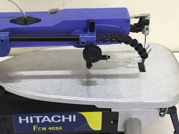 HITACHI/日立工機406mm 卓上糸のこ盤FCW40SA詳細画像4