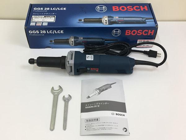 BOSCH/ボッシュ電子ストレートグラインダーGGS28LCE