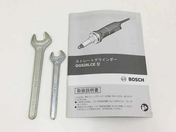 BOSCH/ボッシュ電子ストレートグラインダーGGS28LCE詳細画像7
