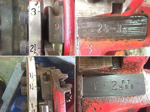 REX/レッキスパイプマシン ねじ切り旋盤 パイプ加工機90A�V詳細画像2