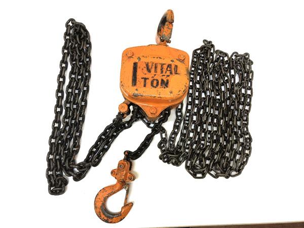VITAL/バイタル手動式チェーンブロック1TON