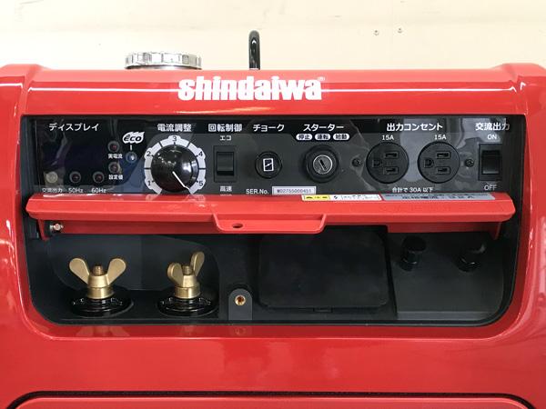 新ダイワエンジン発電機兼用溶接機EGW160M-I詳細画像2