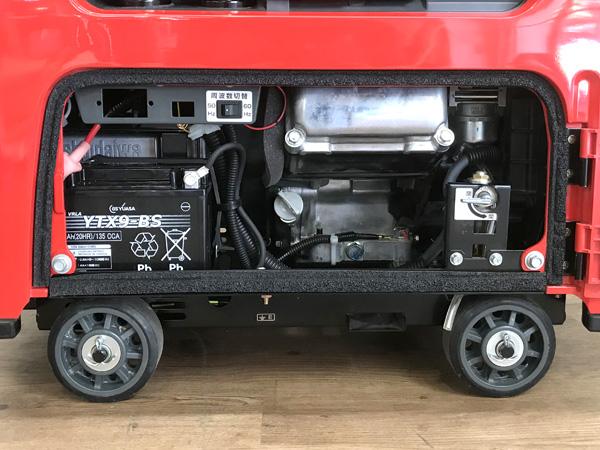新ダイワエンジン発電機兼用溶接機EGW160M-I詳細画像4