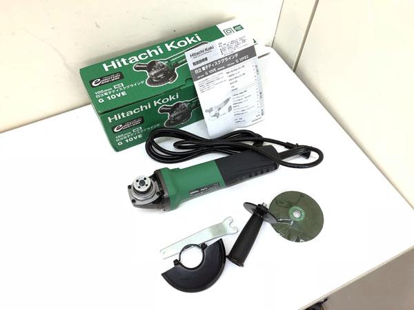 HITACHI/日立工機 100mm ディスクグラインダー  G10VE