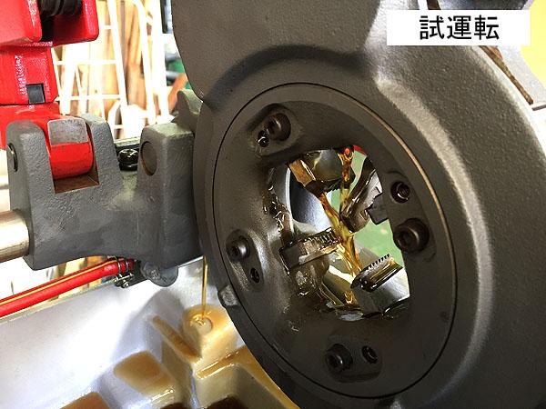 Asada/アサダパイプマシン ねじ切り旋盤BEAVER 80詳細画像3