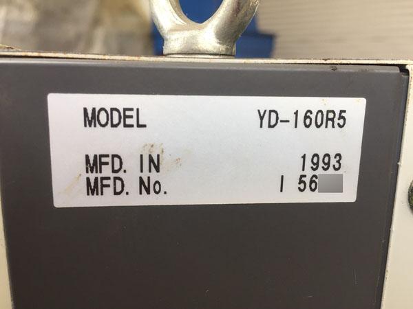 Panasonic/パナソニック半自動溶接機YD-160R5詳細画像4