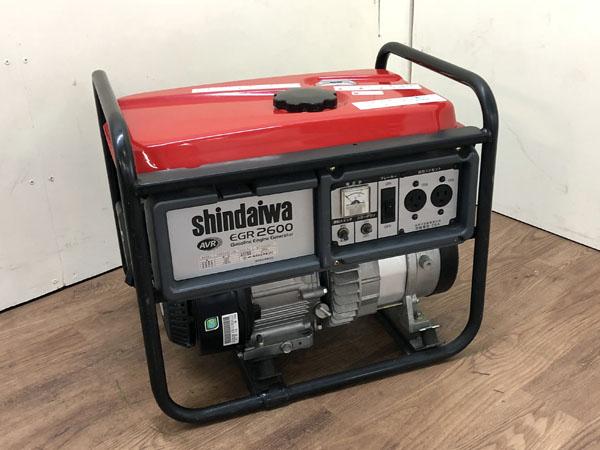 shindaiwa/新ダイワ/やまびこ2.6kVAガソリンエンジン発電機EGR2600-SB