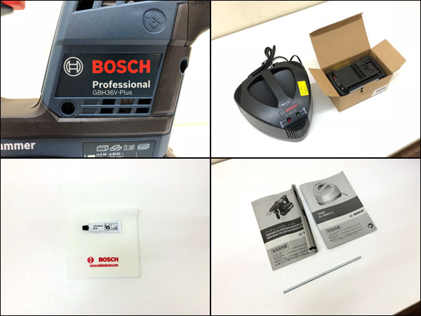 BOSCH/ボッシュコードレスハンマードリルGBH36V-Plus詳細画像5