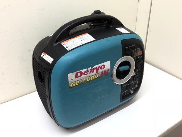 Denyo/デンヨー 1.6kva インバータ発電機買取しました!