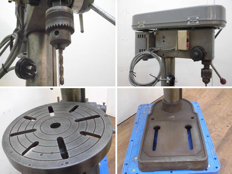 HITACHI/日立工機強力型 13mm 卓上ボール盤 3相200VB13RH詳細画像2