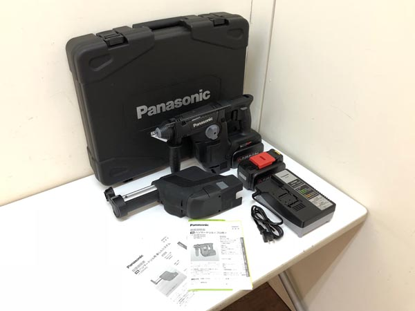 Panasonic/パナソニック  充電 ハンマードリル 集塵システム付き買取しました!