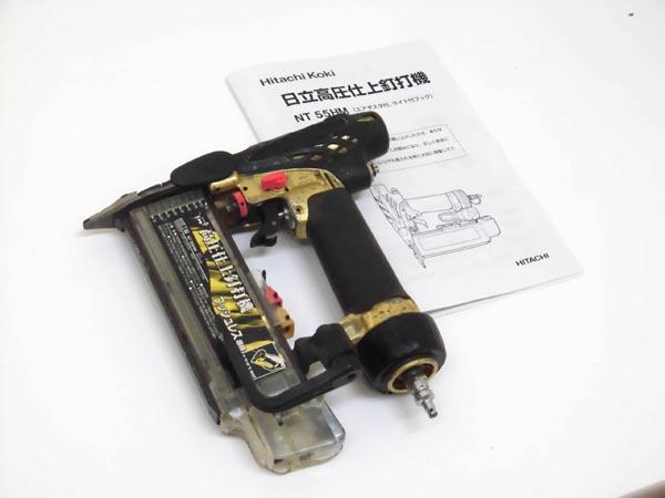 HITACHI/日立工機 高圧仕上釘打機 NT55HM