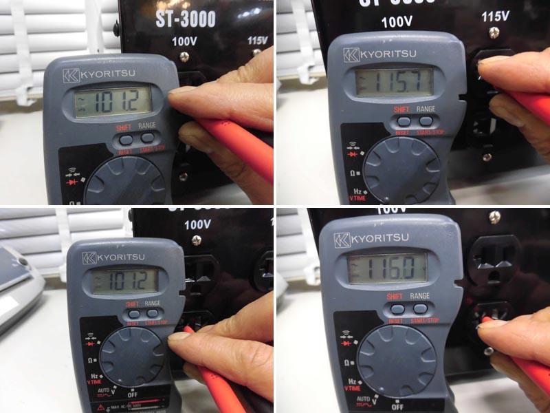 RILAND/リランドダウントランス 200V→100V/115VST-3000 詳細画像2