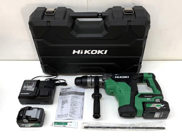 HiKOKI/ハイコーキ(日立工機) マルチボルト 36V コードレスハンマドリル買取しました!