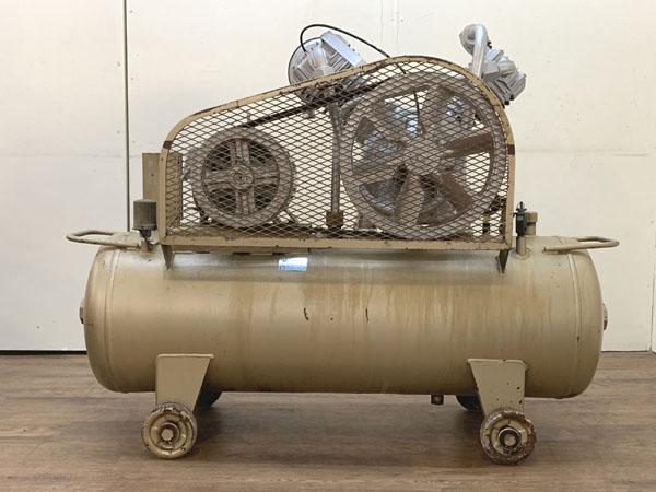 TOSHIBA/東芝3.7kW 5馬力 給油式 レシプロコンプレッサー/エアーコンプレッサーTOSCON SP106-37T4詳細画像2