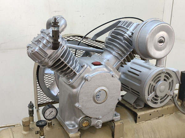 TOSHIBA/東芝3.7kW 5馬力 給油式 レシプロコンプレッサー/エアーコンプレッサーTOSCON SP106-37T4詳細画像3