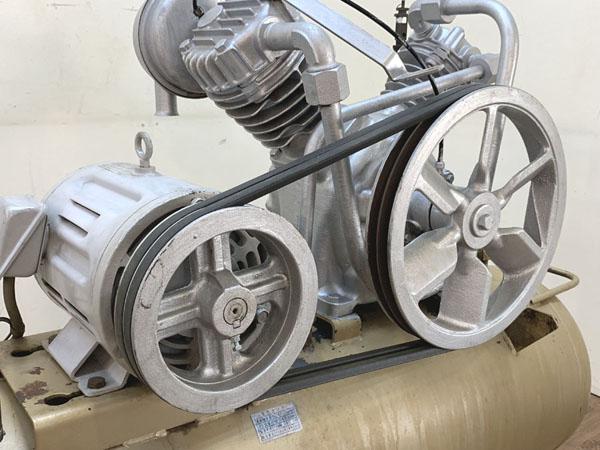 TOSHIBA/東芝3.7kW 5馬力 給油式 レシプロコンプレッサー/エアーコンプレッサーTOSCON SP106-37T4詳細画像4