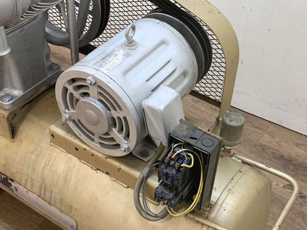 TOSHIBA/東芝3.7kW 5馬力 給油式 レシプロコンプレッサー/エアーコンプレッサーTOSCON SP106-37T4詳細画像5