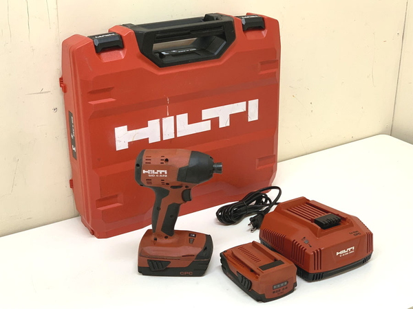 HILTI/ヒルティ 22V 2.6Ah 充電式インパクトドライバ(B)難有り SID4-A22