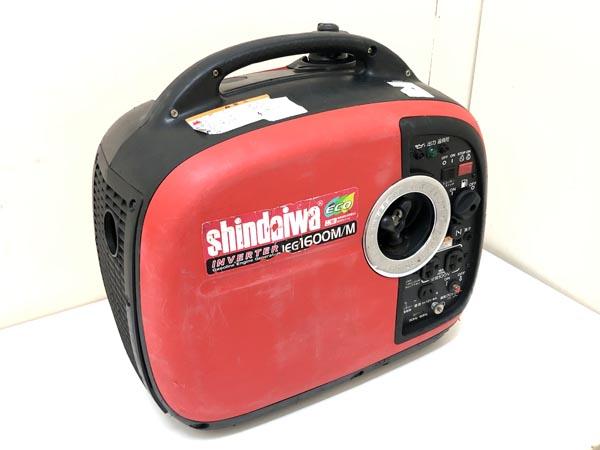 SHIDAIWA/新ダイワ1.6kVA インバーター発電機  iEG1600M-Y