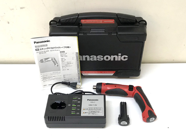 Panasonic/パナソニック充電スティックドリルドライバーEZ7410LA2SR1