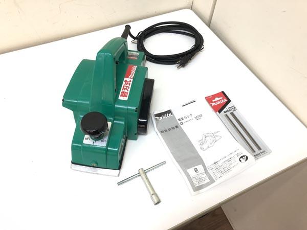 makita/マキタ 110mm 電気カンナ買取しました!