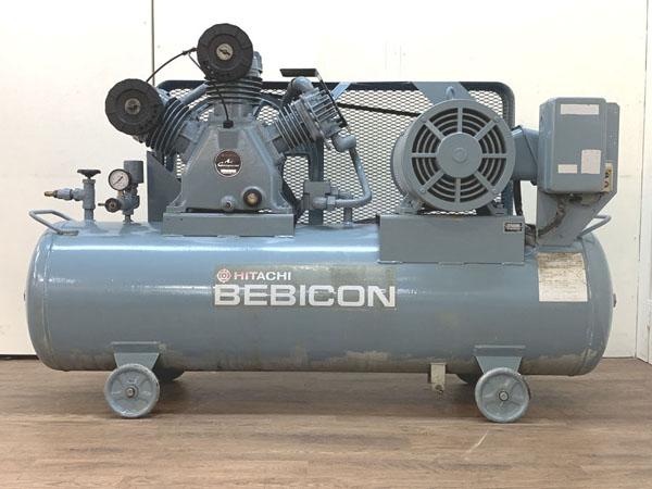 HITACHI/日立産機システム 11kW 15馬力 給油式レシプロコンプレッサー 60Hz専用買取しました!