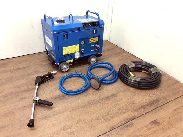 ツルミポンプ/鶴見製作所  エンジン式高圧洗浄機買取しました!