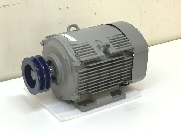 HITACHI/日立産機システム 3.7kW 5馬力 三相200V 全閉外扇屋内型モーター TFO-LK 4P 3.7kW