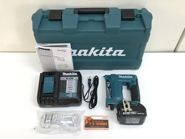 makita/マキタ 18V 充電式タッカ ST312DRF