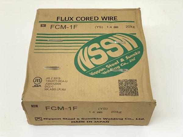 NSSW/日鉄住金溶接工業 1.4mm フラックス入りワイヤ 1巻20kg買取しました!