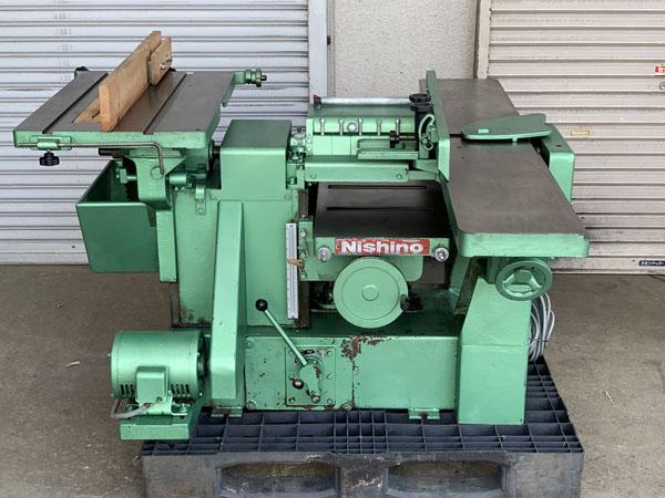 Nishino/西野製作所 万能機 万能木工機買取しました!