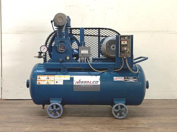 EARTH FUJI/富士コンプレッサー 1.5kW 2馬力 給油式レシプロコンプレッサー買取しました!