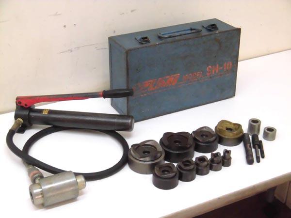 IZUMI/泉精器 手動油圧パンチャー SH-10-1/HP-180N