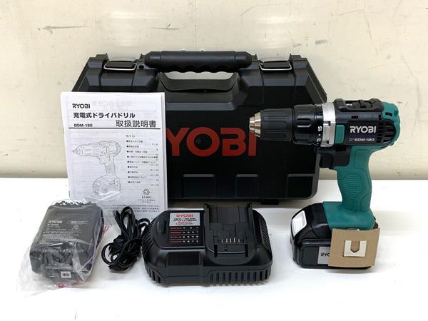 RYOBI/リョービ 18V ドライバドリル買取しました!