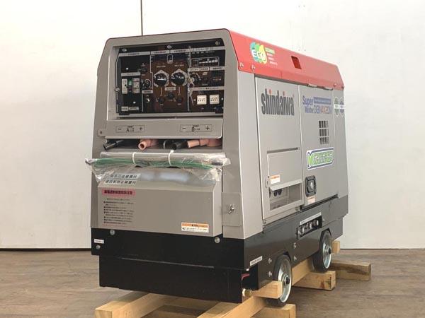 shindaiwa/新ダイワ ディーゼルエンジン発電機兼用溶接機買取しました!