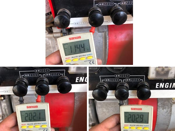 shindaiwa/新ダイワ4.1kVA 3相200V ガソリンエンジン発電機EG41T詳細画像6