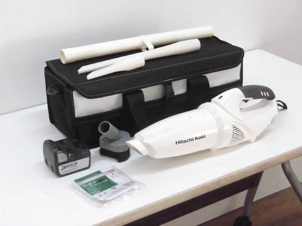 HITACHI/日立工機 乾式コードレスクリーナー買取しました!