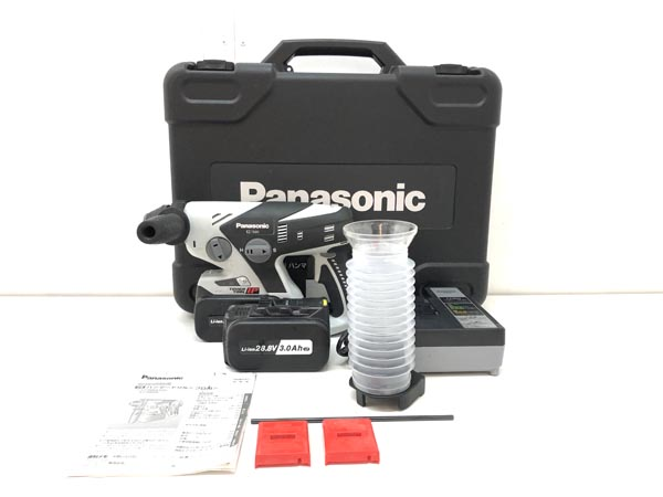 Panasonic/パナソニック 28.8V 3.0Ah 充電式マルチハンマードリル EZ7880LP2S-B
