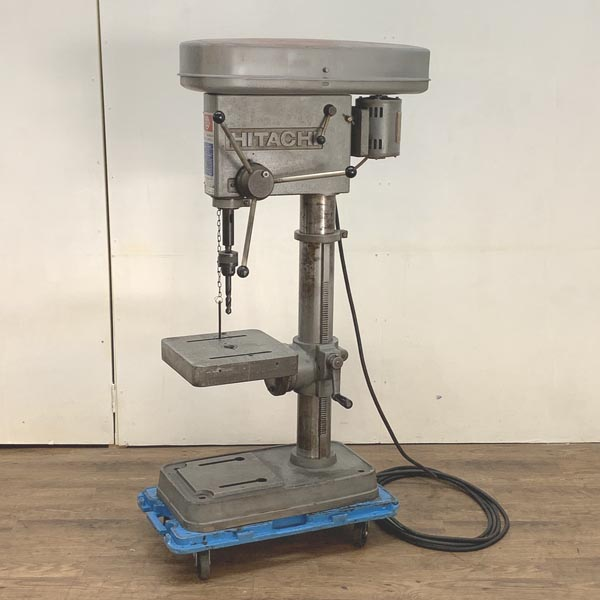 HITACHI/日立工機23mm 400W 卓上ボール盤 角テーブル 200VDE-4300