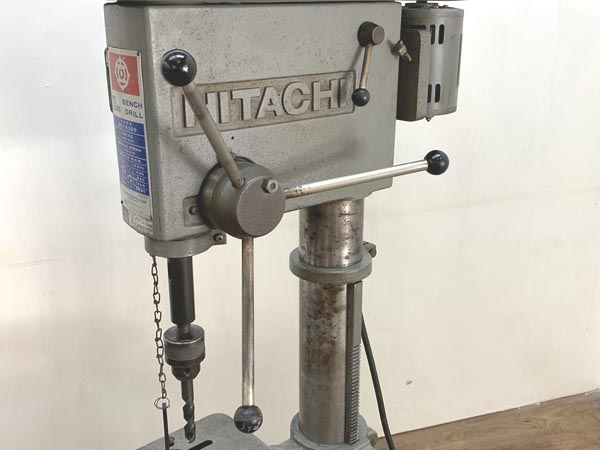 HITACHI/日立工機23mm 400W 卓上ボール盤 角テーブル 200VDE-4300詳細画像3