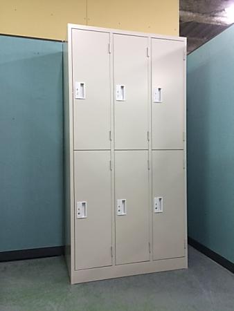 mugendou 6人用ロッカー 【アウトレット|オフィス家具|ロッカー】